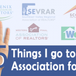 All association logos with a hand and name of article
