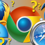 vector of different web browsers