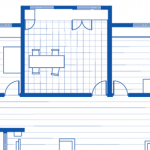 blue print floor plan