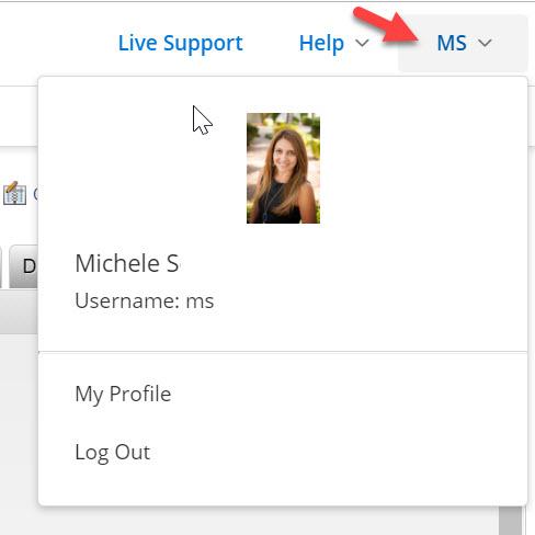 Flexmls Agent Profile Menu