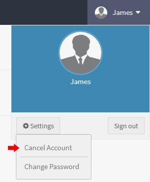 Cancel AgentSquared Account