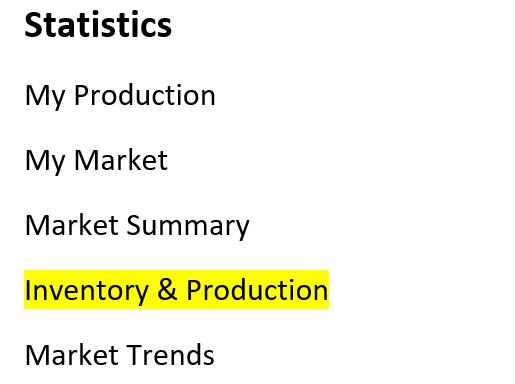 screenshot of Statistics tab in Flexmls