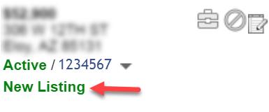 screenshot of 72 hour banner in Flexmls