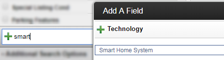 screenshot of smart home search results in Flexmls