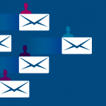 vector image of email icons
