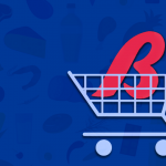 Bashas Logo in a vector Shopping Cart