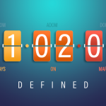 "Flip clock showing ""Days on Market defined"""