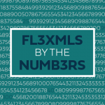 Random numbers with the blog title in the middle
