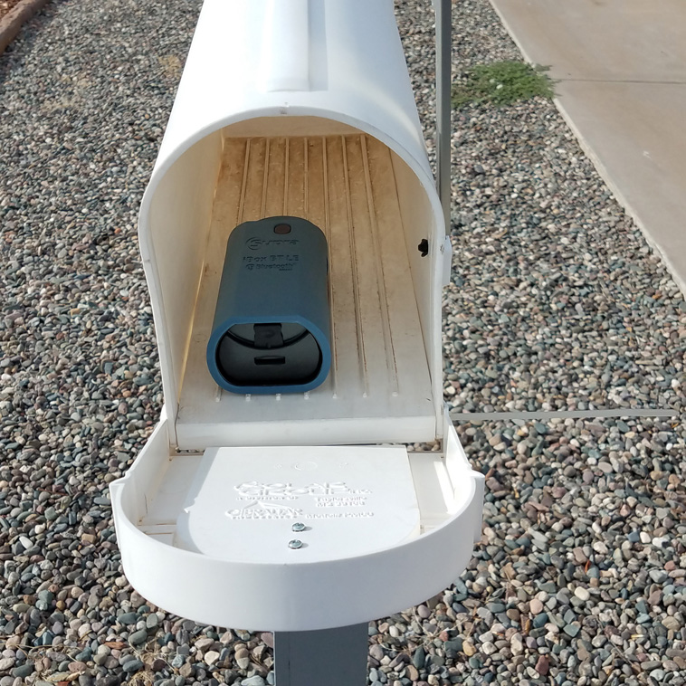 Lockbox in a mailbox