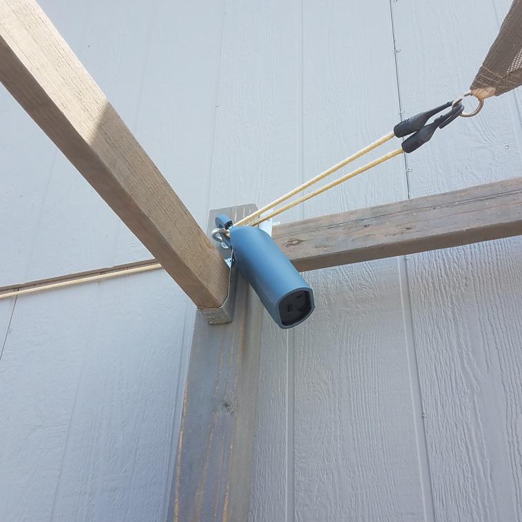 Lock box hung really high