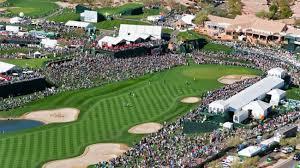 Aerial shot of Phoenix Open