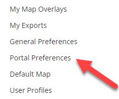 Flexmls portal preferences
