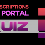 Subscription or portal quiz