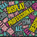 Word cloud of every REALTOR designation