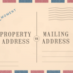 Postcard reading Monsoon Property Address vs Mailing address