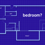 blue print floor plan
