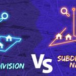 Subdivision shape vs Subdivision name shape