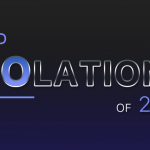"Floating text ""Top Violations of 2018"""