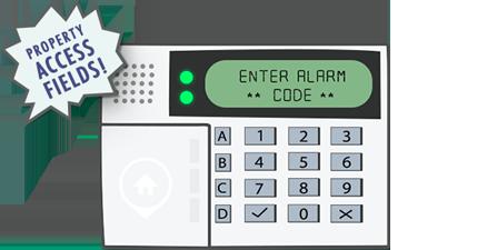 Alarm Panel, Enter Code