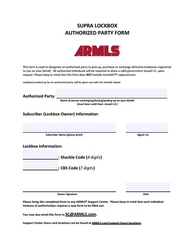 Authorization-Form-Assistant-Lockbox