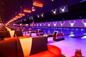 photo of bowlero bowling alley