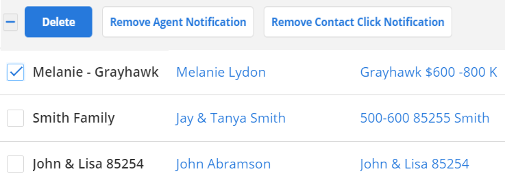 screenshot of flexmls subscriptions