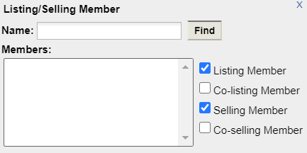 flexmls lscreenshot listing member