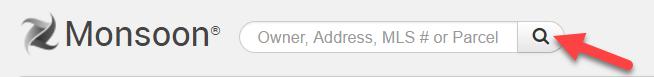 Screenshot of Monsoon search bar