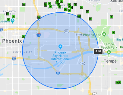 Circle Flexmls Map Search