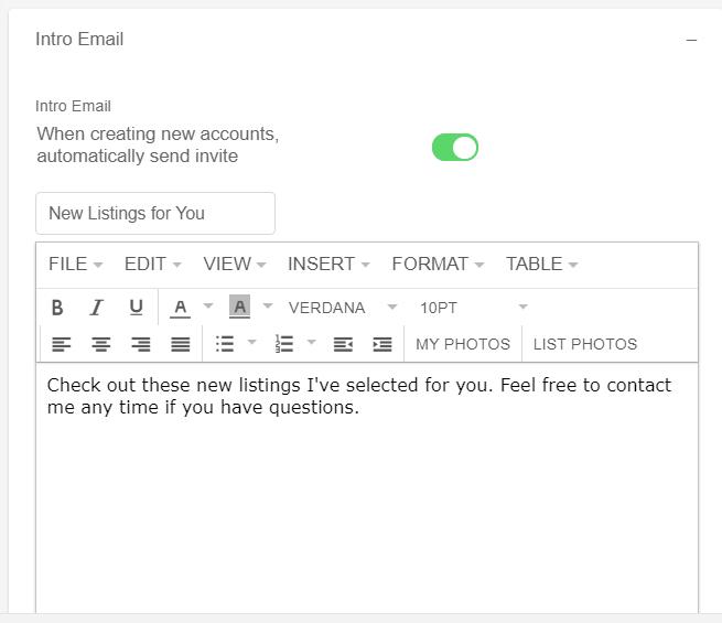 Flexmls Portal Email