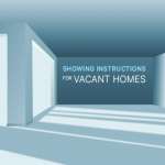 showing instructions for vacant houses graphic