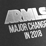 Major Changes in 2018 text over black background