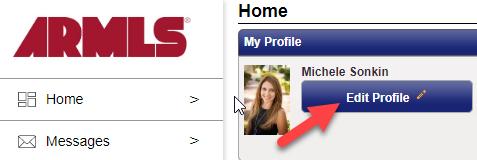 screenshot of ShowingTime profile