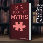 Does ARMLS Sell my data? next to a book of myths